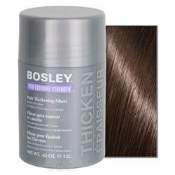 Bosley Hair Thickening Fibers Medium Brown